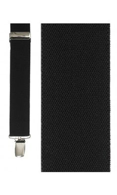 Black Newport Suspenders