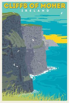 Ireland cliffs     Thurles:  Un programa de Inmersión con chicas y chicos irlandeses.Con talleres de teatro, ecología y medio natural.    Thurles es una ciudad vibrante y próspera que cuenta con una población de 7.700 habitantes. Está situada en el norte de Tipperary.    #WeLoveBS #inglés #idiomas #Irlanda #Ireland #Thurles
