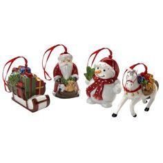 Villeroy & Boch Nostalgic Ornaments Snowwalking Set