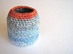 Tiny Sculpture Art Basket