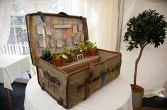 vintage chest Hornsbury Mill Somerset Wedding Photographer