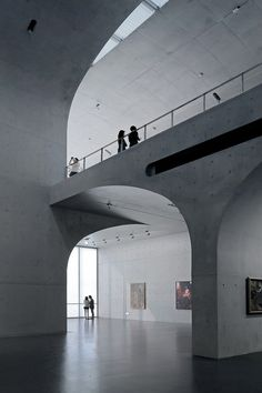 Long Museum West Bund Designed by Atelier Deshaus, Long Museum West Bund is located at the bank of Huangpu River, Xuhui District, Shanghai Municipality, the site of which was us Concrete Architecture, Architecture Awards, Space Architecture, Architecture Details, Architecture Career, Shanghai, Contemporary Art Gallery, Concrete Structure, Exhibition Space