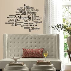 KA International | Sticker citate FAMILY QUOTE | RMK2741SCS
