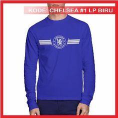 Kaos Chelsea FC 1 Kaos Distro Kaos Bola Biru Benhur Kaos Lengan Panjang Metsu Store