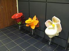 #12 flower urinals