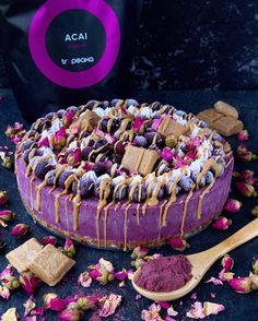 Tropeaka Blueberry Acai Cheesecake