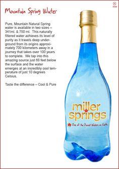 Miller Springs Bottled Water