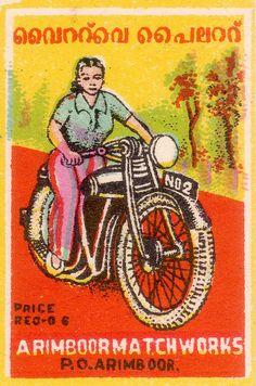 Vintage Prints, Vintage Posters, Fireworks Art, Art Cart, Matchbox Art, Cool Posters, Modern Posters, Vintage India, Japanese Illustration