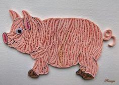 Quillied pig by pinterzsu.deviantart.com on @DeviantArt