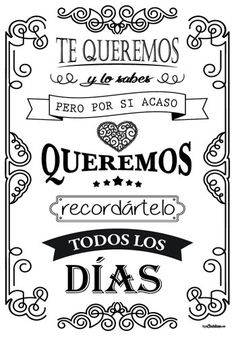 Birthday quotes for dad in spanish gift ideas 42 super Ideas Dad In Spanish, Birthday Quotes, Birthday Wishes, Mr Wonderful, Dad Quotes, Ideas Para, Hand Lettering, Diy And Crafts, Kids Crafts