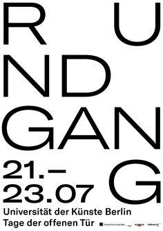 Rundgang Poster for UdK Berlin >elias_hanzer