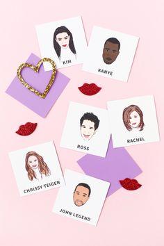 Famous Couples Memory Game (Free Printable!) | studiodiy.com