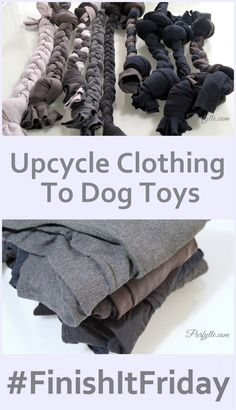 Cats Toys Ideas - Purfylle: Upcycle Clothing To Dog Toy - Tap the pin for the most adorable pawtastic fur baby apparel! Youll love the dog clothes and cat clothes! - Ideal toys for small cats Diy Pet, Diy Dog Toys, Cat Toys, Homemade Dog Toys, Diy Animal Toys, Toy Diy, Diy Rope Toys For Dogs, Diys For Dogs, Crafts For Dogs