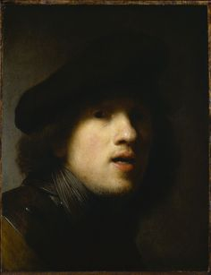 Rembrandt self-portrait 1629