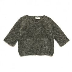 PULLI hand knitted baby alpaca pullover