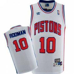 Camiseta Detroit Pistons - Rodman www.basket3c.com d6984d5b068
