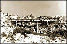 Mi hermosa ciudad, Fotografía de los archivos históricos Mazatlan Sinaloa, 12 de junio de 1935. Historias Mazatlecas el Puente del desaparecido Paseo Gral. Juan Dominguez