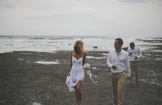 Beach wedding <3