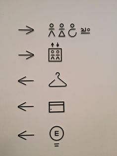 Directional Signage, Wayfinding Signage, Signage Design, Hotel Signage, Hotel Logo, Environmental Graphics, Environmental Design, Toilet Icon, Navigation Design