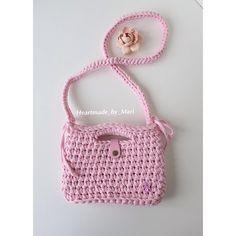 Розовая красотка для принцессы 👛 21 на 15, подклад, кожаная кнопка, ремешок.  На заказ в любом цвете. 1000р (подклад +200р)  #handmade #bag #borsa #летняясумка #сумкакупить #сумкамосква #сумка #розовый #выходвсвет #чтонадеть #аксессуары #сумкаручнойработы #подарки #авторскаясумка #сумочкадлядевочки #knitting #клатч #москва #московскаяобласть #митино #микрогородвлесу #русскиедизайнеры #кроссбоди #сумочка #лето2016  #crossbody #мода2016 #детскаясумка #вязанаясумка  #марисумки