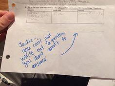 #test #question
