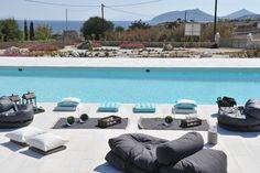 beanbags for kids – Kids' Playground . Outdoor Bean Bag, Kids Bean Bags, Paros, Greek Islands, Luxury Villa, Outdoor Furniture, Outdoor Decor, Sun Lounger, Playground
