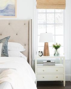 Creating a Cozy Guest Bedroom - Studio McGee Farmhouse Bedroom Decor, Cozy Bedroom, Home Decor Bedroom, Bedroom Furniture, Master Bedroom, Master Suite, Bedroom Ideas, White Bedroom Suite, 50s Bedroom