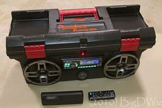 DIY Custom Toolbox Boombox built with Car Audio Gear!