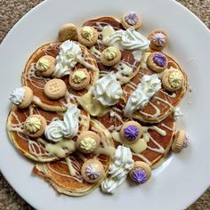 """Amy on Instagram: """"Protein waffles! 🥞🍫 Didn't fancy stacked, so went for an array of toppings! • 452 calories • 45g protein • @myprotein pancakes mix •…"""" Healthy High Protein Meals, High Protein Recipes, Protein Foods, Protein Waffles, Calorie Deficit, Mini Cupcakes, Amy, Pancakes, Lose Weight"""
