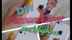 diy coque de telephone - YouTube