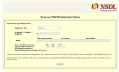 New pan application form 49a online dating