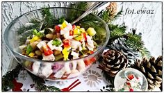 Ewa w kuchni: Śledziowa sałatka z fasolą