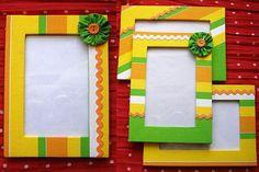 DIY picture frames #CroscillSocial