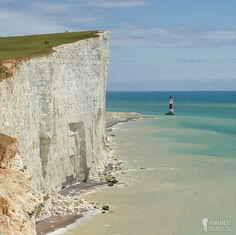 England's Breathtakingly Beautiful Chalk Cliffs || The highest chalk sea cliff in the UK at an astounding 530 feet. The chalk of the cliffs was formed over a 30 million year period when the whole area was under the sea.