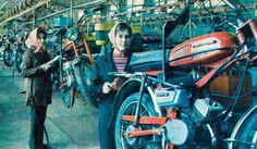«Верховина» на Львовском мотозаводе, 1983