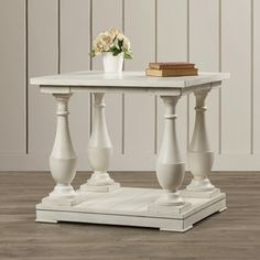 Beachcrest Home Cragmere Sandalfoot End Table