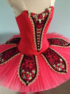 Paquita? This looks a little like the red bodice we hear all about. I wonder.........?