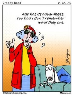 Maxine Age Cartoon