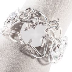 1127 - Hand-braided shiny silk and cashmere scarf - Antonio Ortega Cashmere Scarf, Braids, Silver Rings, Silk, Shopping, Jewelry, Fashion, Bang Braids, Cornrows