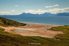 Applecross Beach. The road to Applecross is the most spectacular in Scotland and Applecross village is soo beautiful