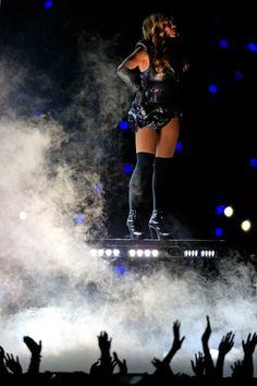 Foto: lo show di #Beyonce durante l'intervallo