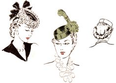how to make a 1940 pillbox hat tutorial Millinery Hats, Pillbox Hat, Turbans, Fashion Mode, Diy Fashion, Vintage Fashion, Fashion Sewing, Fashion Online, 1940s Hats