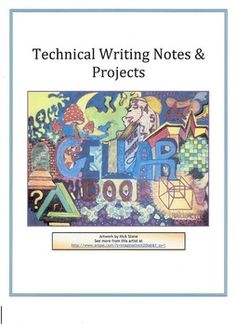 Technical Writing is a valuable skill across multiple fields. This product includes a handout with notes for constructing workplace memos and for formatting sensitive business communications. The projects are an exercise in cooperative learning, critical thinking and instructional presentation.