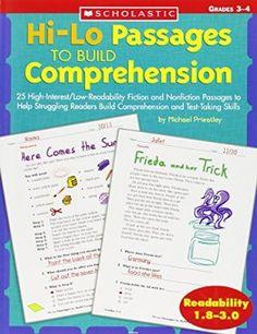 Hi-Lo Passages To Build Reading Comprehension Skills: Grades 3-4 (Hi-Lo Passages To Build Comprehension)