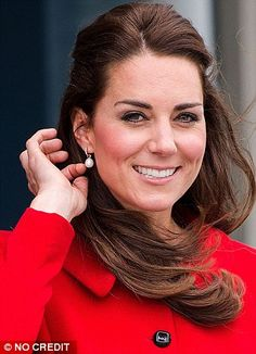 The girl with the pearl earrings: The Duchess of Cambridge has long championed pearls and it seems, as always, she is setting a trend