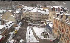 Webcams de Cauterets(Hautes Pyrénées) le 09 décembre 2014