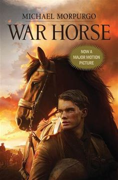 From amazon.com:  In 1914, Joey, a beautiful bay-red foal with a distinctive cross on his nose, is sold to the army and thrust into the midst of the war on the Western Front. With his officer, he charges toward the enemy, witnessing the horror of the battles in France. But even in the desolation of the trenches, Joey's courage touches the soldiers around him and he is able to find warmth and hope. But his heart aches for Albert, the farmer's son he left behind. Will he ever see his true…