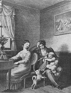 Kupferstich von Friedrich Rosmäsler nach Joh. Heinrich Ramberg, 1831 95 (Ex. Bayer. Staatsbibliothek München)