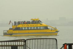 NYC water taxi haha @Becky Steklachich