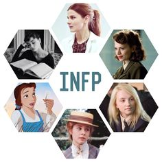 INFP. I love all six of these characters. :).....this makes me really happy!